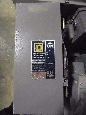Square D Fa100awk Ser B 100a 600v Nema 3r Circuit Breaker Enclosure -en40