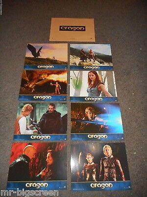 ERAGON - ORIGINAL SET OF8 FRENCH LOBBY CARDS - 2006