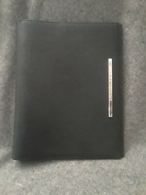 Versace Textured Leather Filofax Style Personal Organizer And Planner