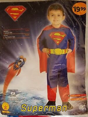 Halloween Superman kids costume for ages 1 and 2