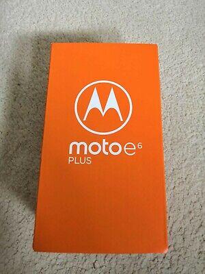 Motorola Moto E6 Plus -Brand New - Unlocked 32GB Polished Graphite [UK Seller]