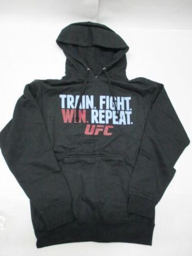 UFC Train Fight Win Pullover Hoodie - Black - Men