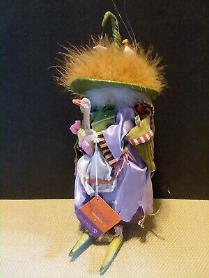 Dept 56 Krinkles Halloween Short Witch with Baby Dragon NIB