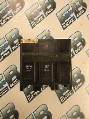 Bryant Br320 3 Pole 20 Amp 240 Volt Plug In Circuit Breaker Warranty