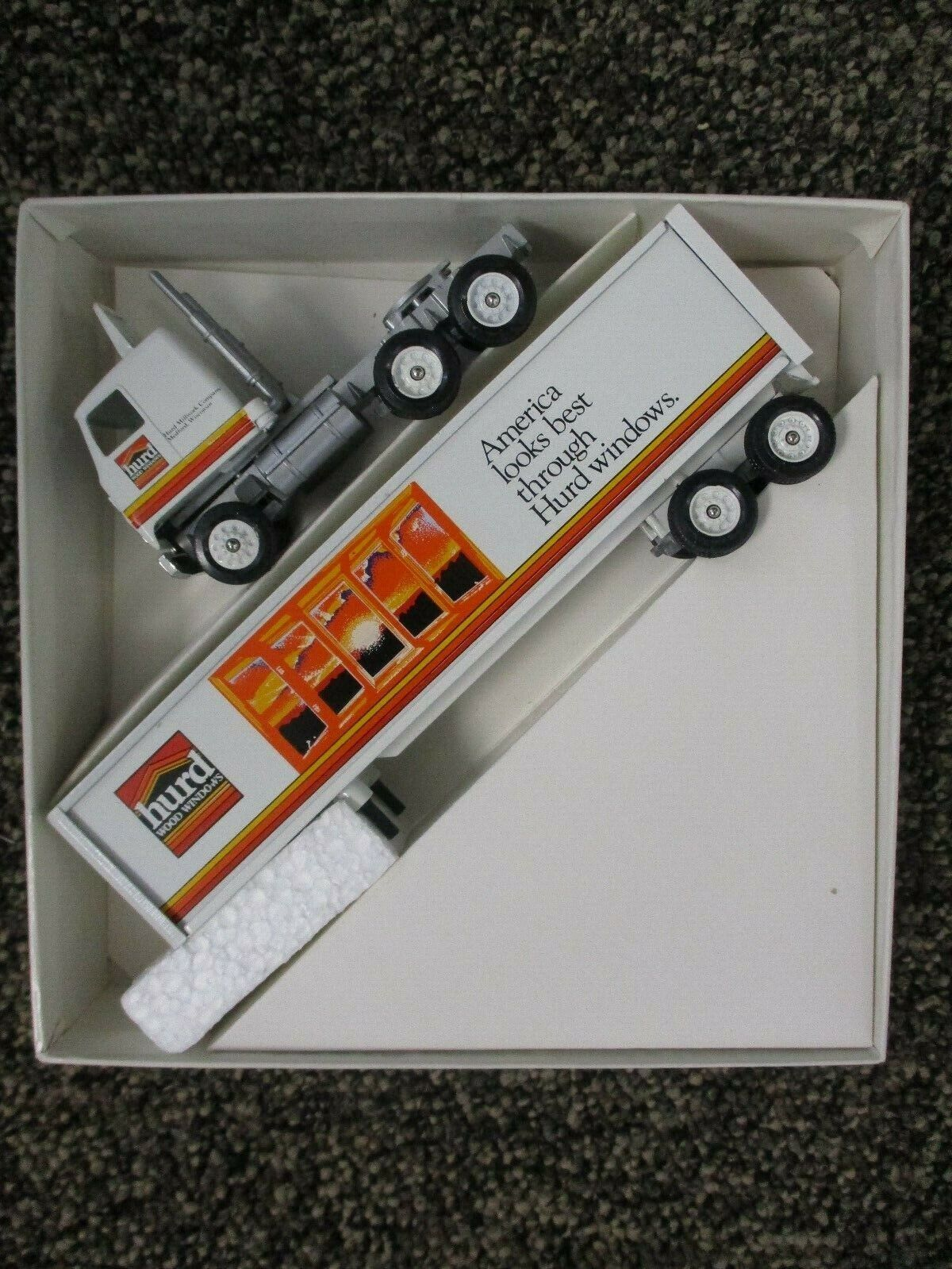 Winross 1/64 Scale Diecast Tractor Trailer Hurd Windows New In Box