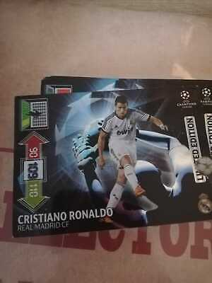 Panini UEFA Champions League 2012-2013 LIMITED EDITION Ronaldo for sale  Shipping to Nigeria