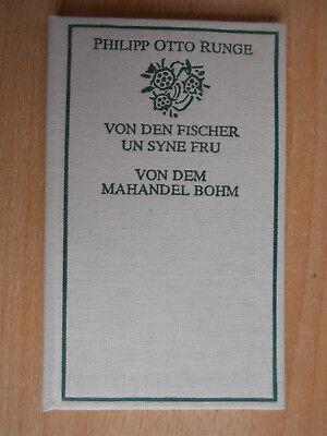 Runge , Philipp Otto Von den Fischer un syne Fru / De lütt Bökerie Horst Hussel