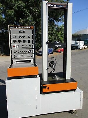 Used- Instron 1120 Series Tensile Tester Model 1122.