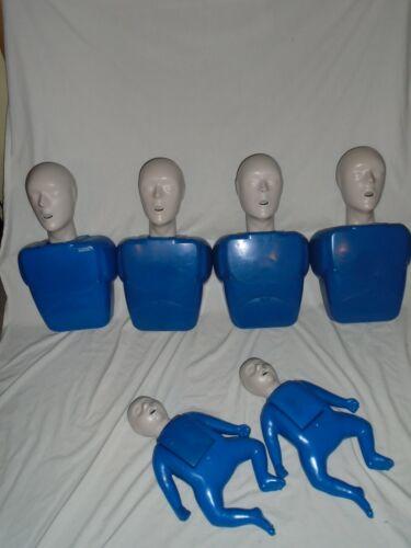 CPR PROMPT  PACK -  4 CHILD/ADULT 2 infant Manikins Mannequins