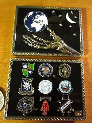 Joint Special Operations Command JSOC SOCOM AFSOC DEVGRU Reapers Challenge Coin