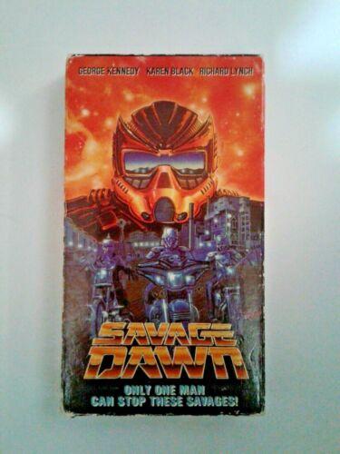 Savage Dawn VHS (1989)