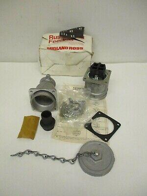 Russellstoll Feedrail Pn Jcs334h 30a 600vac-250v Vintage Plug Waterproof