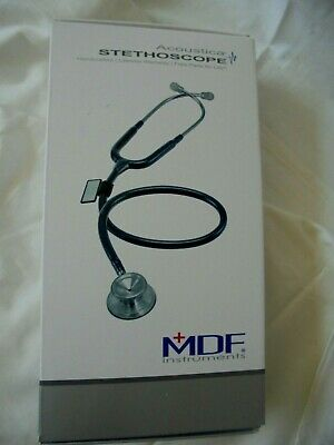 New In Box Mdf Acoustica Stethoscope Mdf747xp R29 In Redwhite