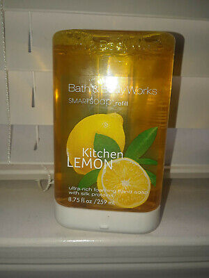 Bath & Body Works 8.75oz. KITCHEN LEMON * SMARTSOAP FOAMING SOAP REFILL NEW Lemon Foaming Soap