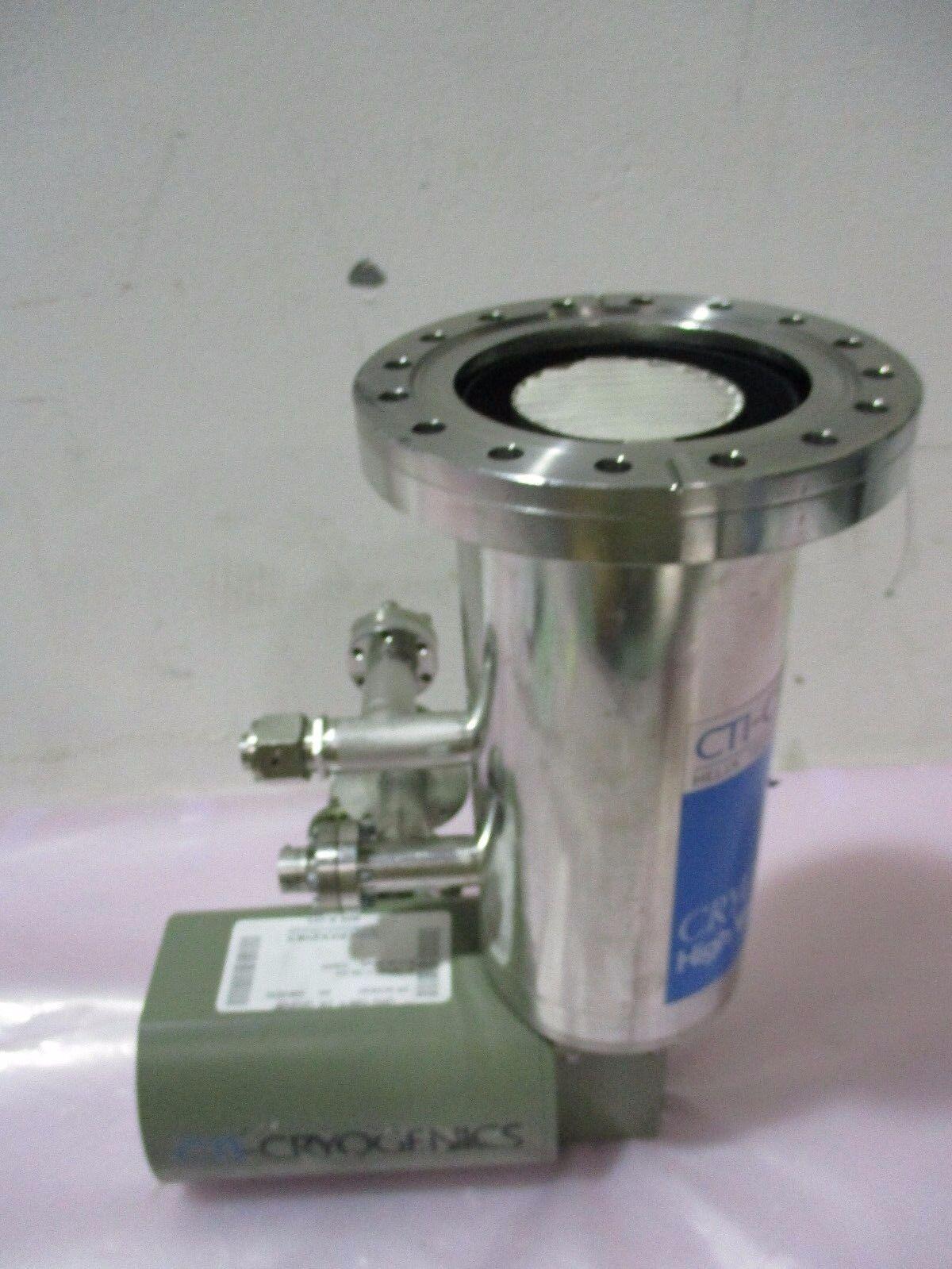 CTI-Cryogenics 8103030 Cryo-Torr, 100 High Vacuum Pump, Helix, Cryopump, 420718