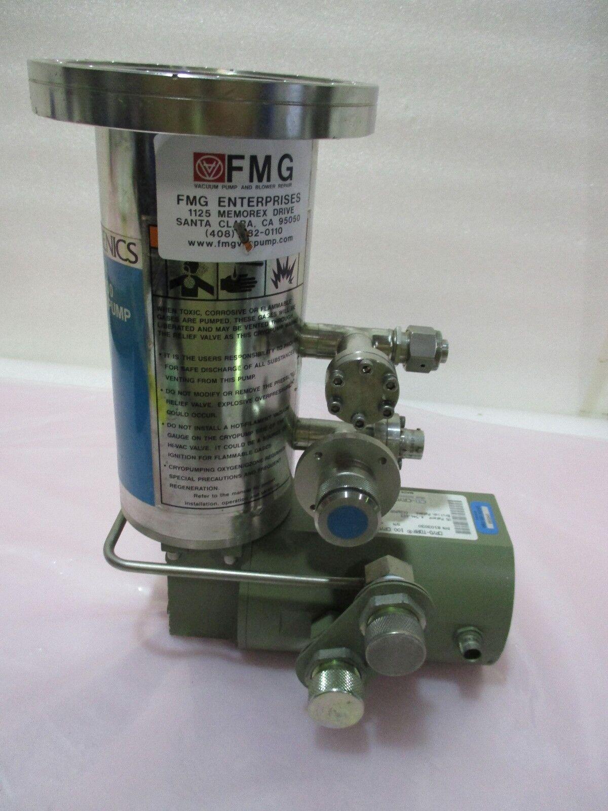 CTI-Cryogenics 8103030 Cryo-Torr, 100 High Vacuum Pump, Helix, Cryopump, 420717