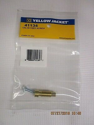 Yellow Jacket Valve Feed Screw Series 41 Titan Manifolds Only - 41134