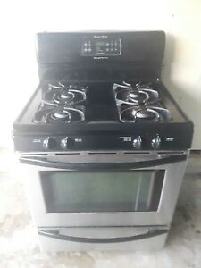 Frigidaire stainless steel gas stove (can deliver)