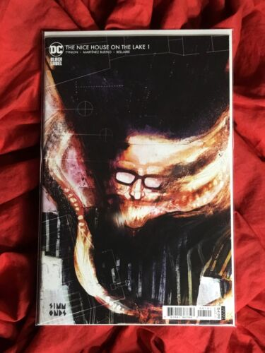 THE NICE HOUSE ON THE LAKE #1~1st PRINT SIMMONDS VARIANT~JAMES TYNION SOLD OUT~