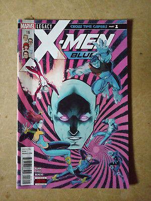 X-MEN BLUE #16 FIRST PRINT MARVEL COMICS (2018) ANGEL BEAST CYCLOPS (Xmen Blue Beast)
