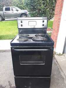Apartment-size electric stove (can deliver)