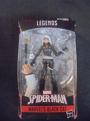 Marvel Legends Spider-Man Kingpin Wave BAF New MOC MIP Black Cat](Black Spider Man)