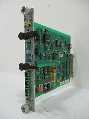 Rexroth Indramat Dss02.1 Sercos Interface Module Servo Option Card Plc Dss02