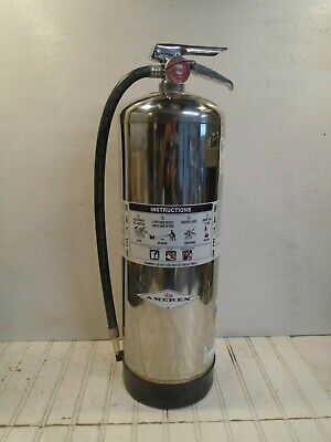 Amerex Fire Extinguisher Model 240 Water Can 2-12 Gal Works