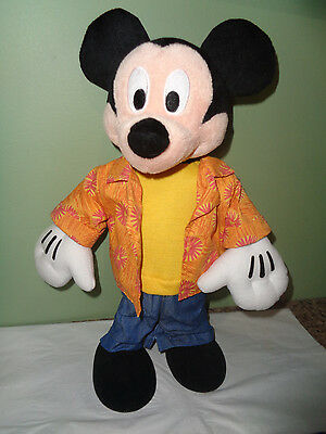 2004 Disney Mambo Mickey Mouse - Animated - Singing - Dancing Toy - Works