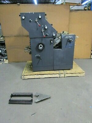 Atf Davidson 702 Perfector Printing Press 240 Volt 1 Phase