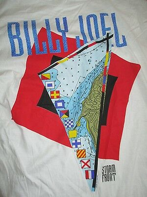 "1989 Original BILLY JOEL ""Storm Front"" Concert Tour (2XL) T-Shirt THE PIANO MAN"
