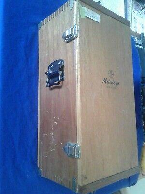Mitutoyo Height Master Gauge 515-311 Original Wood Box Only Model Hmp-12
