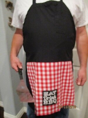 PENIS BBQ BAKING TAILGATING HIGH QUALITY APRON - FUNNY GAG GIFT - -