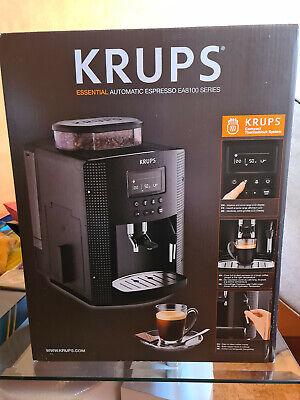 Krups Essential Automatic Espresso EA8100 Series Neu Verpackt