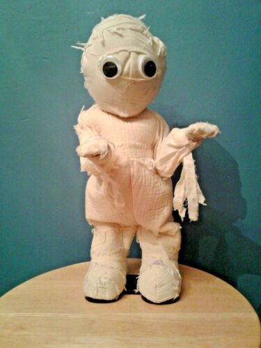 "Vintage 12"" Gemmy Dancing Animated Halloween Mummy Michael Jackson Thriller Rare"