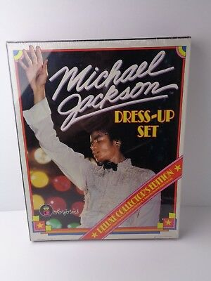 MICHAEL JACKSON COLORFORMS DRESS-UP SET Vintage set from 1984 UNOPENED!!!  - Michael Jackson Dress Up