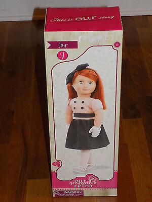 "Our Generation Retro 18"" Joy Doll"