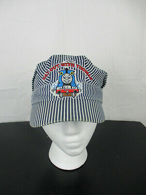 Thomas The Train Engineer Hat (Day Out With Thomas The Train Conductor Engineer Hat Cap Kids Elastic)