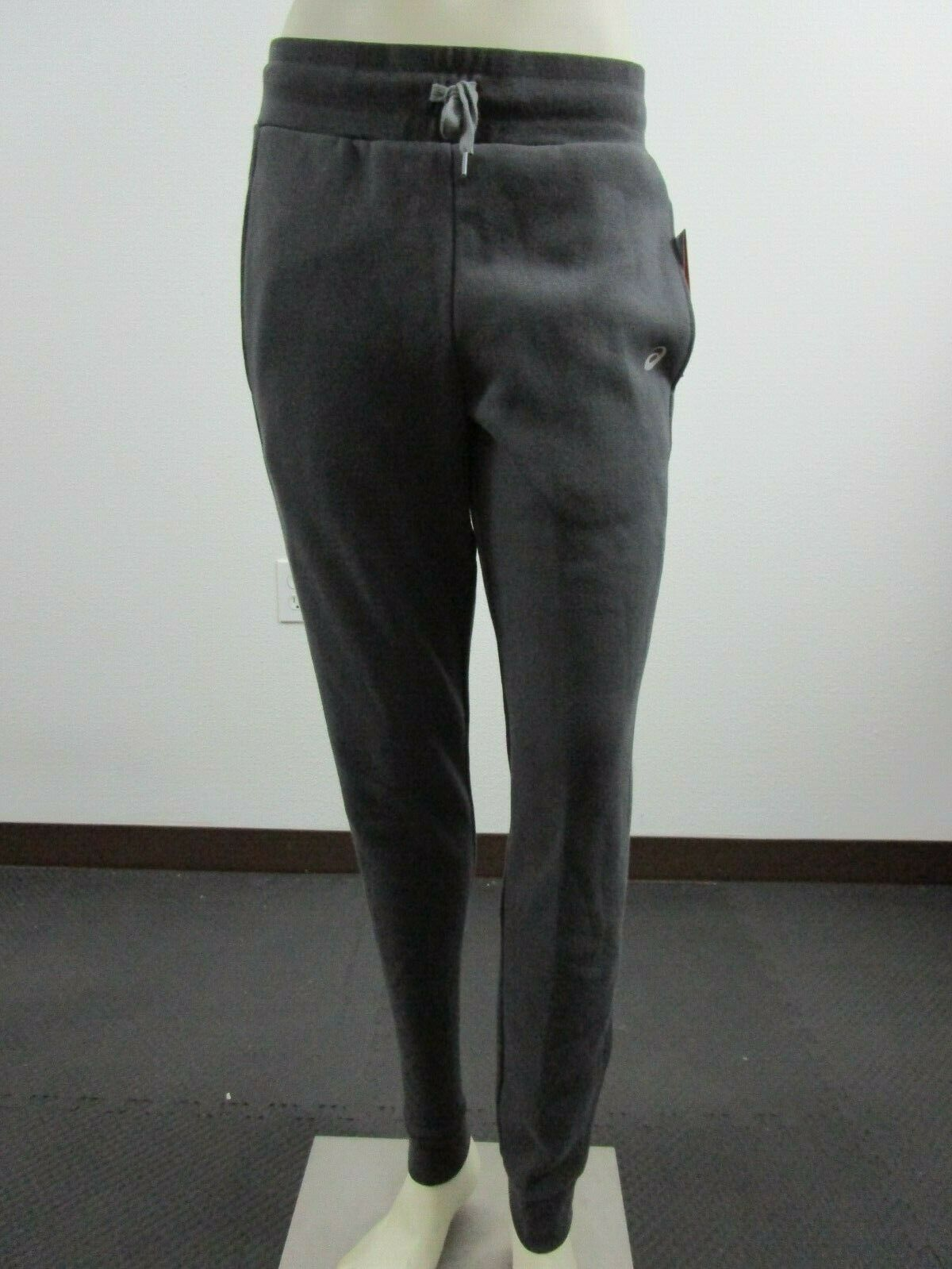 NWT Womens M-L-XL Asics Jogger Casual Fleece Fashion Sweatpa