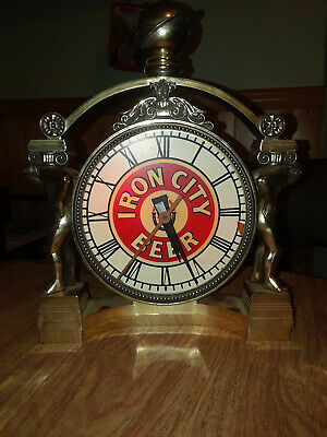 Vintage Iron City Beer clock,iconic