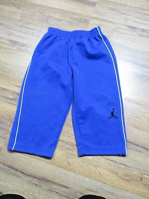 Used, JORDAN Baby Boys Track Pants  Blue Royal Size 24 Months Polyester Solid  for sale  Jackson