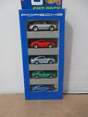 HOT WHEELS ~ 5 PACK ~ 1/64 SCALE ~ PORSCHE