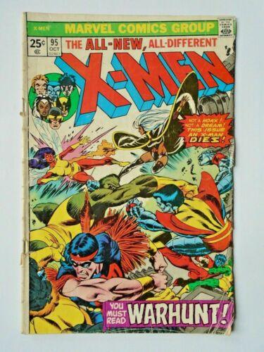 Uncanny X-Men #95, GD+ 2.5, Death of Thunderbird; 3rd Appearance New X-Men