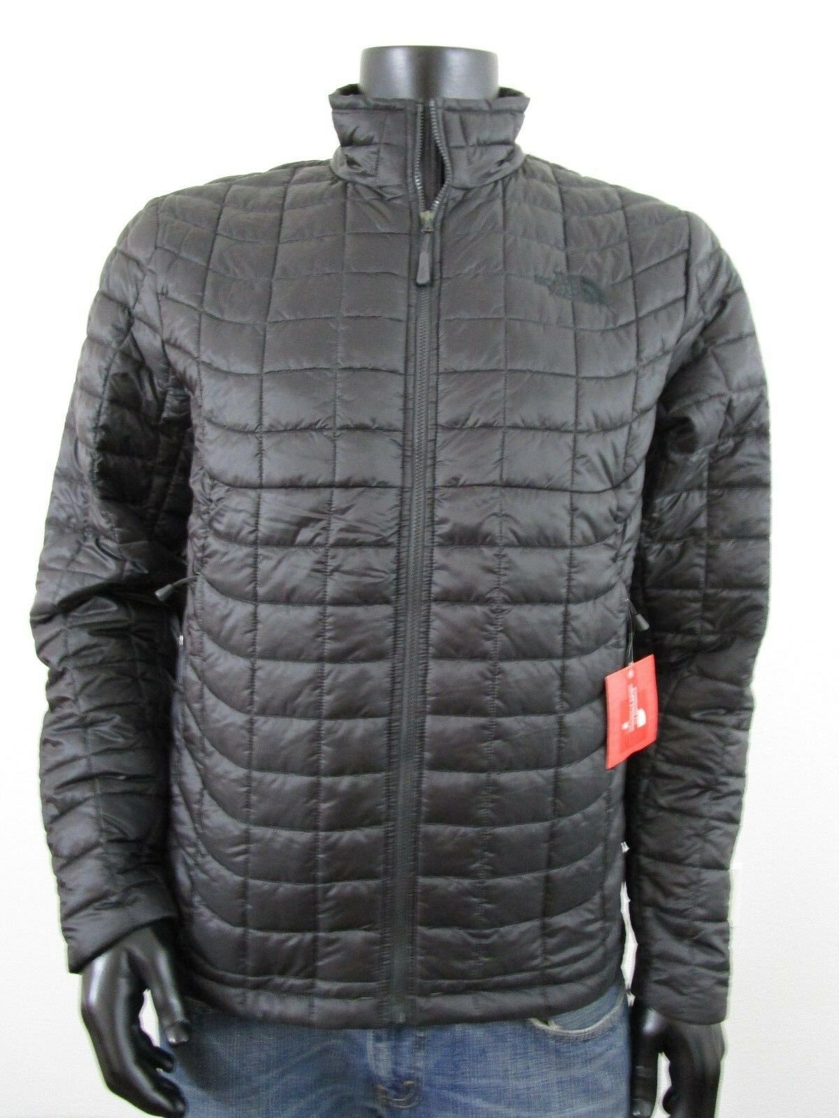 97afe9f58 NWT Mens TNF The North Face Thermoball Insulated FZ Puffer Jacket - Asphalt  Grey