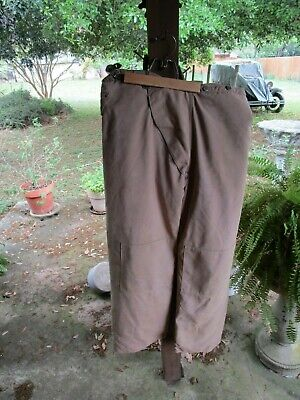 Janesville - Firefighter Bunker Turnout Gear Pants 80s - Size - 36 X 31