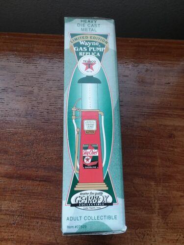 Replica Wayne Texaco gas pump. Limited edition, rare.