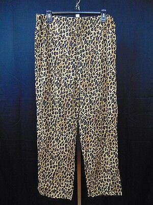 Ralph Lauren Sleepwear, Young Royals Animal Print Pajama Pants Large #1459