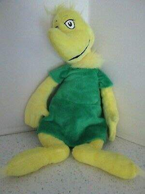 Dr Seuss Girl Characters (Kohl's Cares Dr. Seuss Character Plush Stuffed Girl SNEECH in Green Dress Doll)