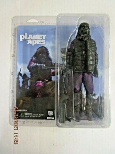 PLANET OF THE APES Gorilla Soldier ACTION FIGURE NIB 2014 NECA Reel Toys Fox