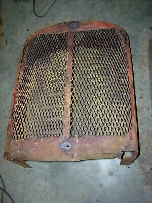Vintage Allis Chalmers Wc Tractor -grille Housing Screen - As- Is -rat Rod